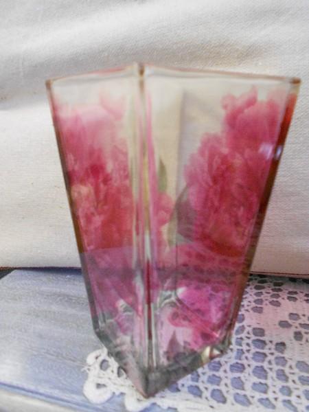 Glass Vase ... Peony