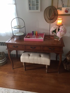 Small French Provincial Desk..Writing Table
