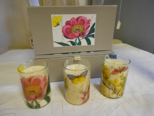 Set of 3 Small Candles