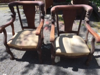 Set of VERY OLD AWESOME Chairs