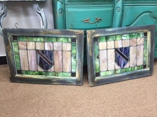 Set of Stained Glass Windows....