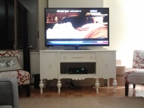 Sideboard Converted to a TV Stand