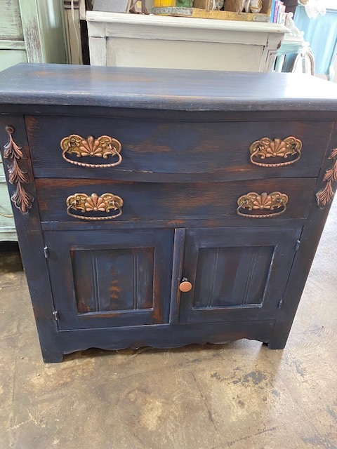 Small Vintage Cabinet ..  or End Table.. or Night Stand