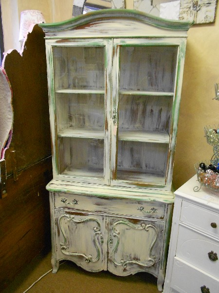French Provincial China Cabinet  ...  After !!!