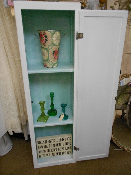 Tall Skinny Cabinet....  Awesome Piece for a Bathroom
