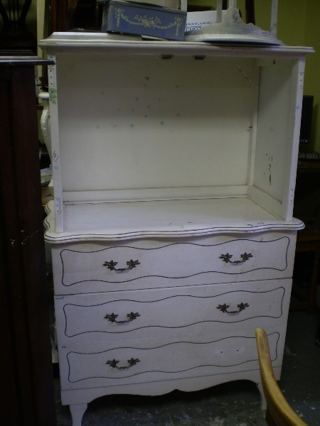 TV Cabinet...  Before