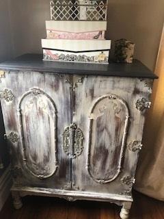 Distressed Vintage Cabinet...