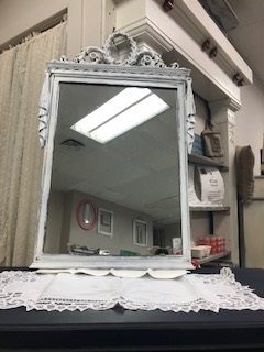 Vintage Wreath Mirror