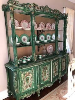 Large... FABULOUS ...  China Cabinet..  Hutch