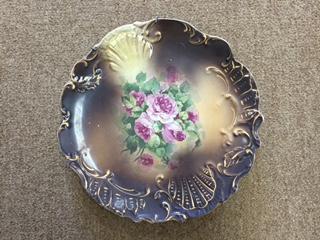 GORGEOUS Vintage Decorative Plate