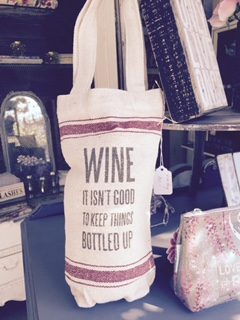Wine Bag...NOT GOOD TO KEEP IT BOTTLED UP