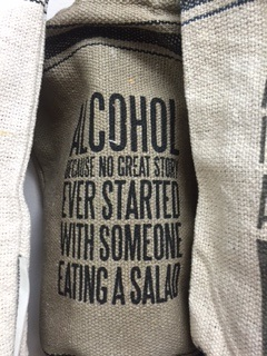 Wine Bag.... NO GREAT CONVERSATION